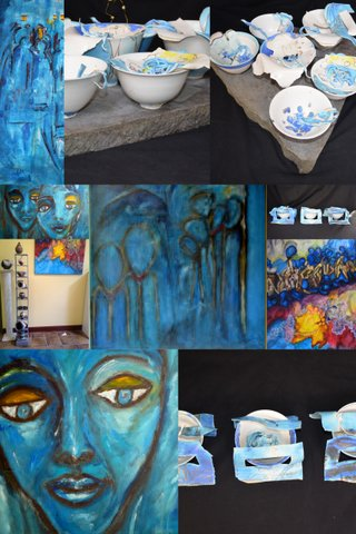 zomer expositie in de Galerie